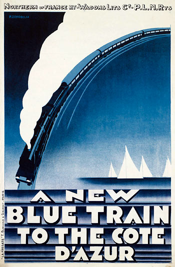 Affiche The Blue Train